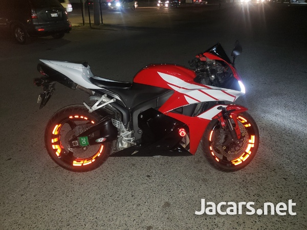 2011 Honda CBR600 Bike-1
