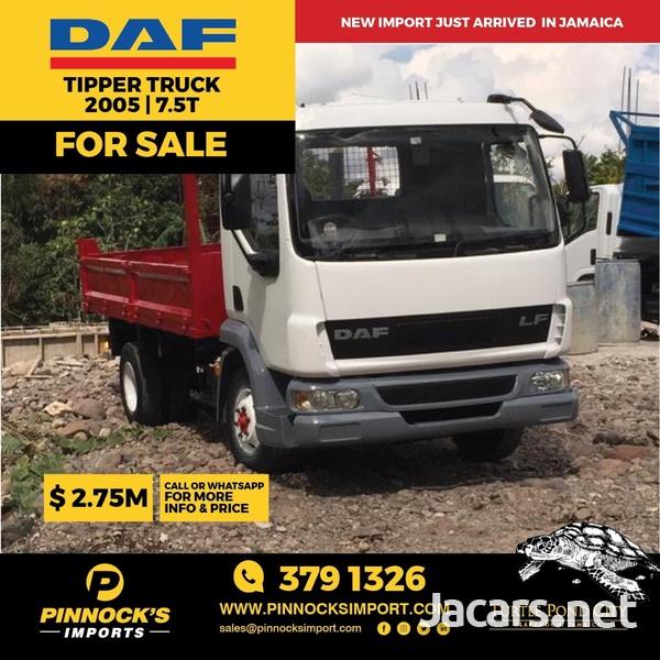 2005 DAF Tipper 7.5T Truck-1