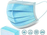 3 Ply Disposable Face Mak Pack of 50