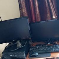 Dual screen desktop