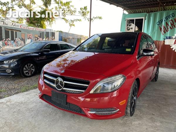 Mercedes-Benz B-Class 2,0L 2013-11