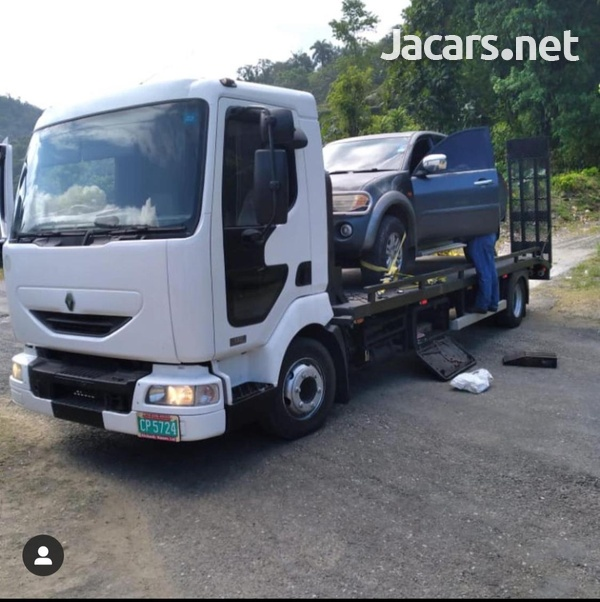 2004 Renault Flatbed Tow Truck-2