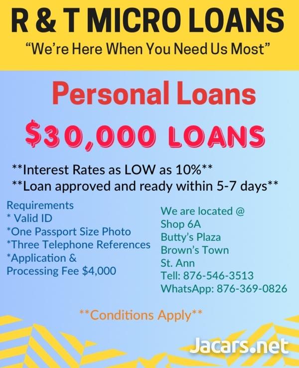 R & T Micro Loans-4