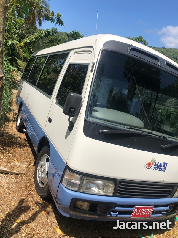 2001 Toyota Coaster Bus-1
