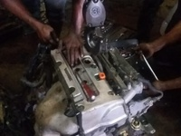 2007 Honda Accord k24A Engine