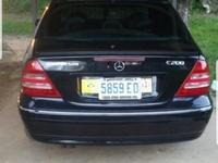 Mercedes-Benz C-Class 2,5L 2002