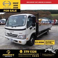 2008 Hino Drop Side Truck