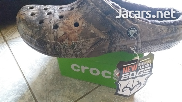Real tree Crocs Brand new with box. size M 12-1