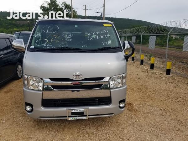 2014 Toyota Hiace DX GL Bus-7