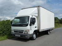 Mitsubishi Canter Box Truck 2010