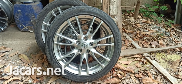 nissan skyline stock rims with 2free tire-1