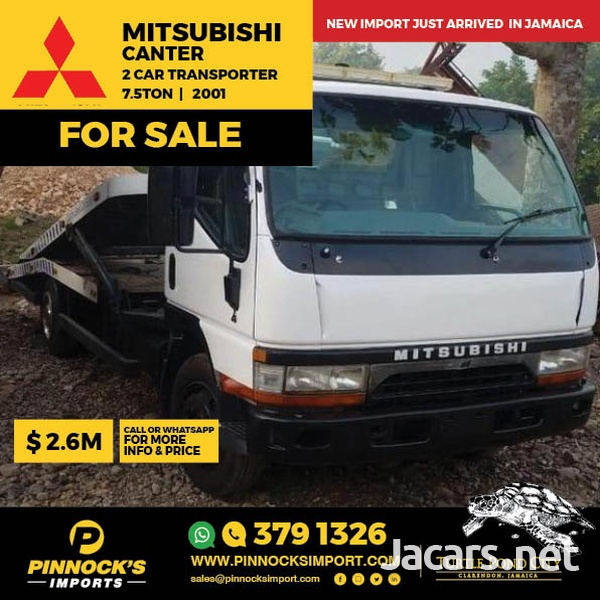 Mitsubishi Canter 2 Car Transporter Truck 2001-1