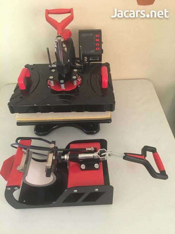 VIVOHOME 11 in 1 Heat Press Transfer Machine-5
