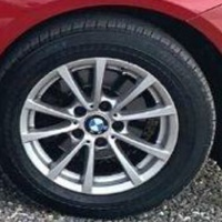 16 inch Factory BMW rims and tyres