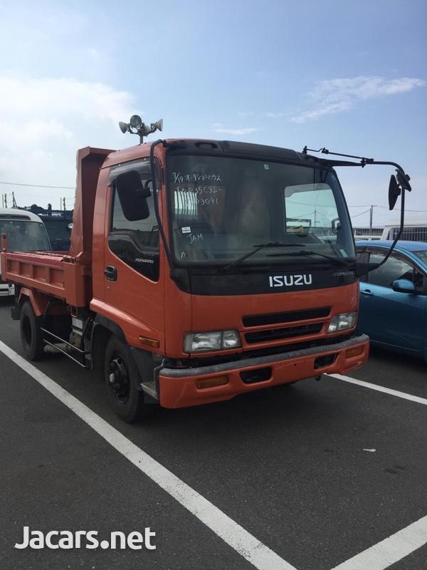 4.5ton Isuzu Forward Dumper Truck-3