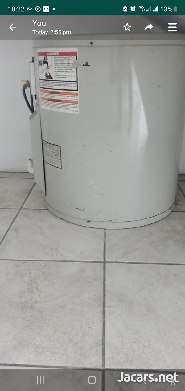 30G wATER HEATER USED-1