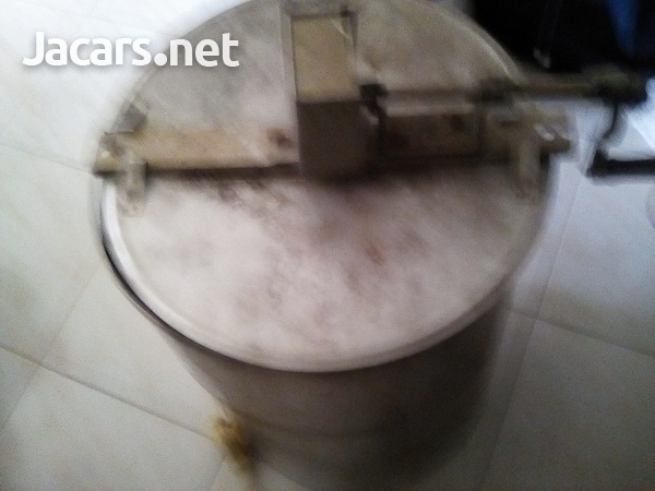 Manual cranking stainless steel honey extractor-1