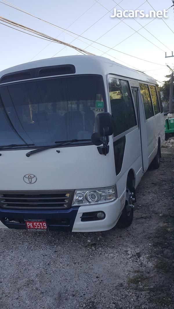 2016 Toyota Coaster Bus-1