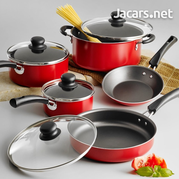 18 piece Pot Set and 9 piece Cookware Pot Set and many other items andTools etc.-4