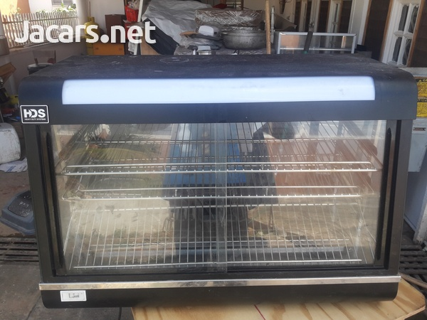 Commercial glass oven chicken warmer can keep any food warm-6