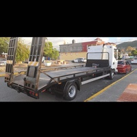2004 Renault Flatbed Tow Truck