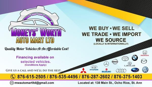 MONEYS WORTH AUTO MART LTD