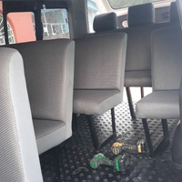 WE BUILD AND INSTALL BUS SEATS FOR TOYOTA HIACE AND CARAVAN.CONTACT 8762921460