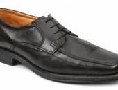 Giorgio Brutini Moc-Toe Oxford Dress Shoe in Black