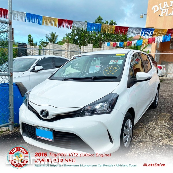 Toyota Vitz 1,0L 2016-2