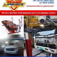 We Will Restore Damaged Car To Its Original Status