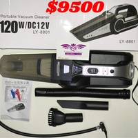 4 in 1 Portable Car Vacuum and Tyre Pump