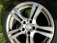 BMW staggered M rims with tyres