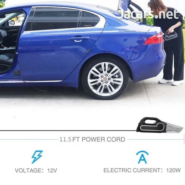 4 in 1 Portable Car Vacuum and Tyre Pump-7