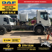 DAF LF55 Cab and Chassis 18t 2008
