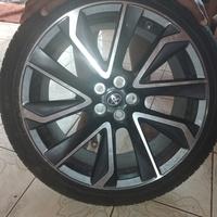 Rims with tyre. St Elizabeth