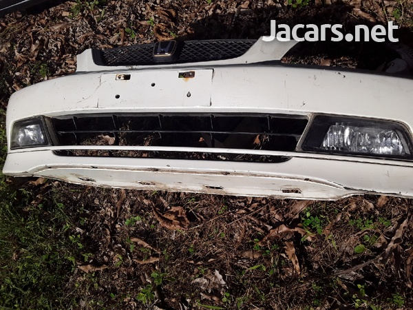 Complete CF4/CF3 accord front bumper with factory powered pole-2