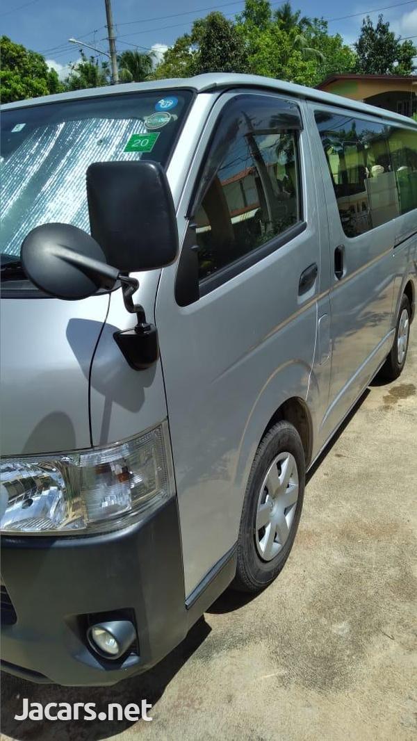2014 Grey Toyota Hiace Minibus-1