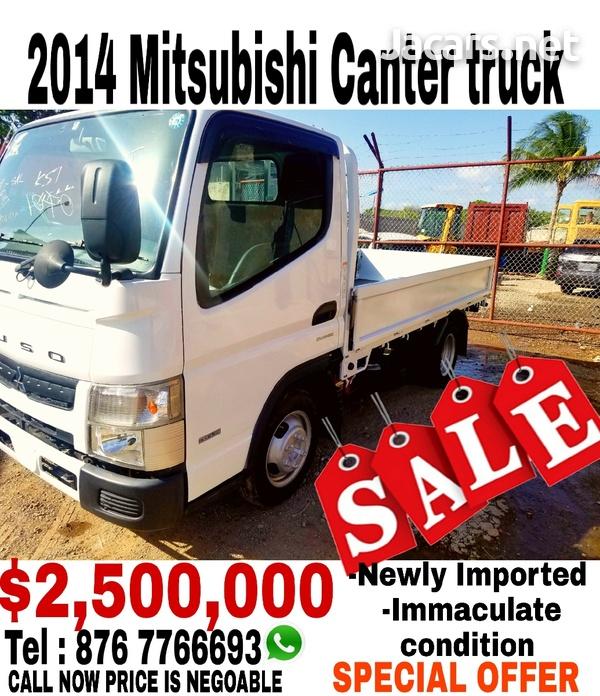 2014 Mitsubishi Canter truck-1