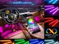 Wsiiroon LED Multicolor Lights Bluetooth App Controller