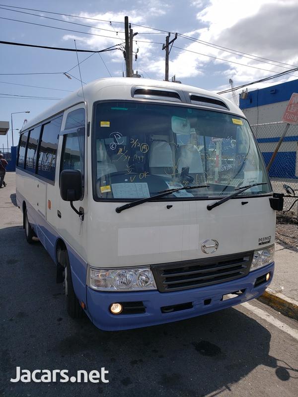 2012 Hino Liesse Coaster Bus-6