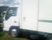 Isuzu freezer body Truck 2005