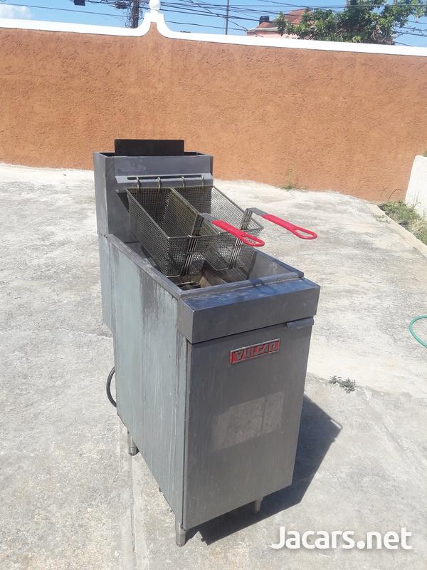 Gas Deep Fryer-3