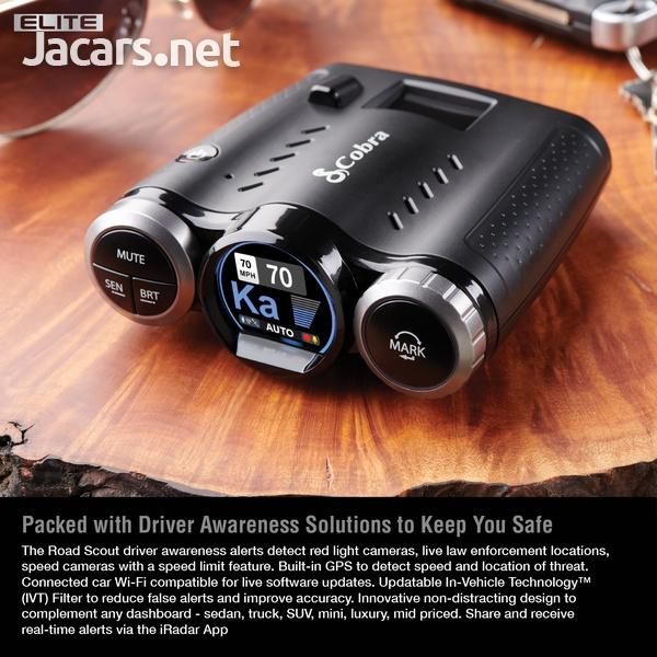 DASH CAM Cobra 0181000-0 Elite Series Road Scout Radar/Laser Detector-1