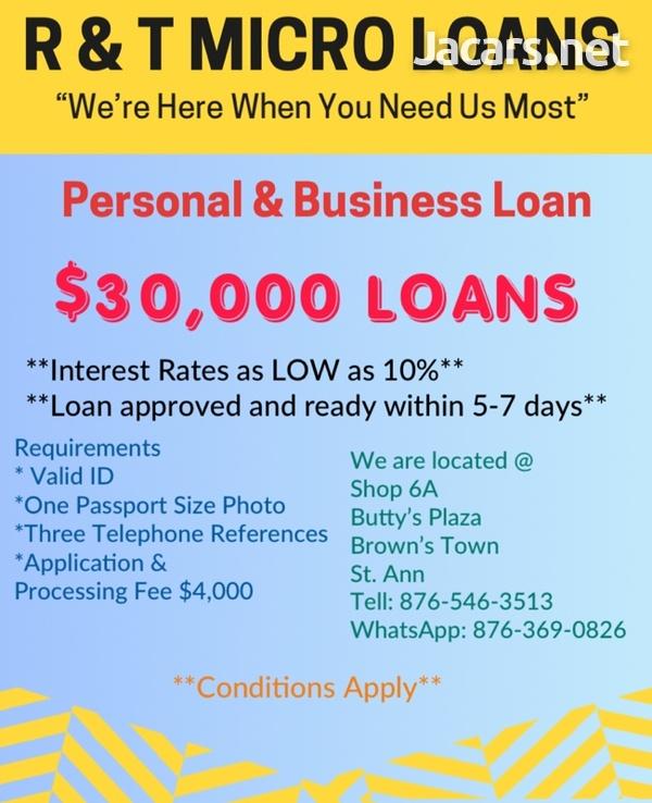 R & T Micro Loans-5