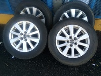 17 Inches Rims and Tyres 5 Lugs