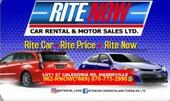 RiteNow Car Rental & Motor Sales LTD