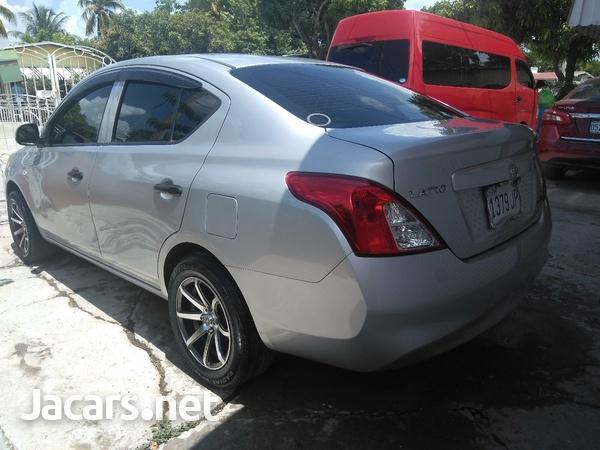 Nissan Latio 1,2L 2014-6