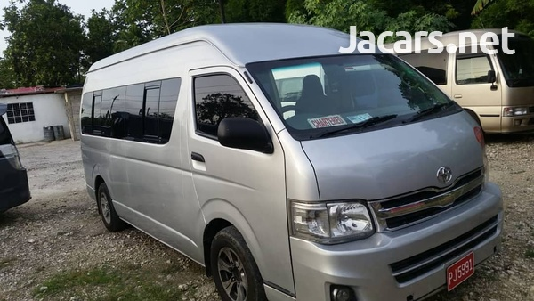 2011 Toyota Hiace Commuter Bus-2