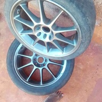 Honda Civic 2013 17 inch Rims with Tyres