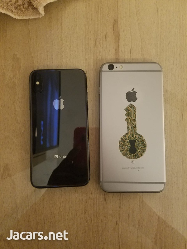 NEW iPhone x and Pre-owned 6s plus 64gb - Unlocked-2